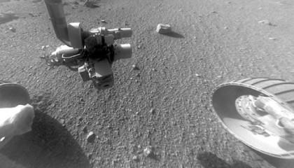 El rover Opportunity descubre misteriosas rayas de piedra en Marte