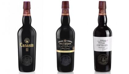 Canasta 20, dos cortados y amontillado añada 2003, tres vinos señeros de Williams & Humbert