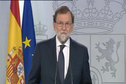 Rajoy avisa de que el referéndum