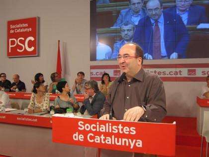 El PSC abordará el martes la abstención del PSOE