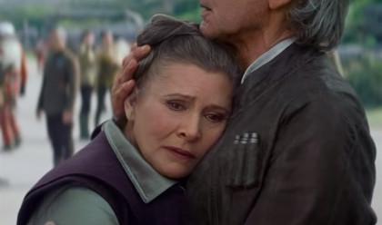Carrie Fisher, hospitalizada tras sufrir un infarto en pleno vuelo