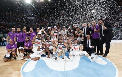 Llull decide una final épica y el Real Madrid conquista su cuarta Copa consecutiva