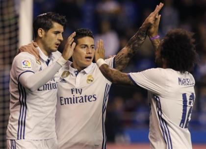 El Real Madrid olvida el Clásico con una exhibición en Riazor