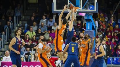 Seraphin agiganta a un Barça que repite victoria ante Valencia Basket