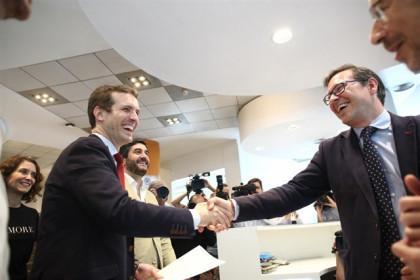 Pablo Casado, el candidato a la presidencia del PP más popular en redes sociales
