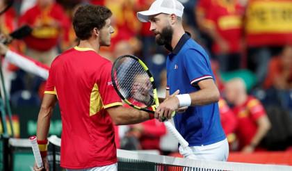España se complica la Davis