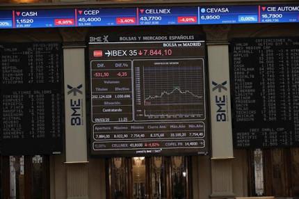 El Ibex 35 arranca la sesión al alza y recupera la cota de los 6.600 puntos