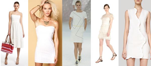 Vestidos blancos de esta temporada